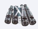 Plastikmaschine für konischen Doppelschrauben-Zylinder