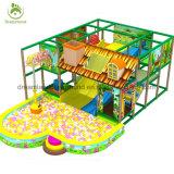 Equipamento interno plástico usado fantástico do campo de jogos com a associação da esfera para a venda