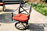 Meubles en aluminium de chaise pivotante de loisirs pour le jardin
