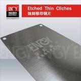 패드 인쇄를 위한 중국 공급자 0.25mm 간격 강철 플레이트
