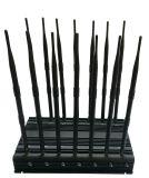 Handy GPS-WiFi Hemmer des Schreibtisch-14 der Antennen-4G Signal-Hemmer UHFvhf-Lojack, Handy-Signal-Hemmer/Signal-Blocker