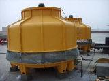 円形の冷却塔(向流100T)