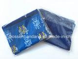 중국 공장 OEM 생성 주문 로고 Fullover 인쇄 파란 극지 양털 다기능 목 온열 장치