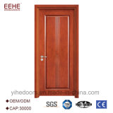 Diseño de madera del polaco de la puerta del oscilación para el cuarto de baño