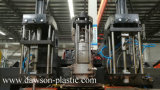 0~500ml HDPE/PE/LDPE/PP Kosmetik-Flaschen-gute Qualitätsstrangpresßling-Blasformen-Maschine
