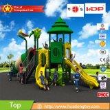 Equipo al aire libre HD15A-030b del juego de la diapositiva de los cabritos del patio de la escuela