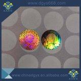 Einfacher Destoryed Hologramm-Aufkleber-Zoll und Drucken