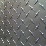 Espelho de alumínio em relevo/ folha de alumínio espelho polido com uma barra