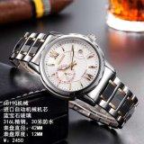 Timepiece impermeabile di qualità della vigilanza dell'acciaio inossidabile per gli uomini