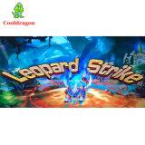 Het muntstuk stelde Staking 8 van de Luipaard van het Spel van de Vissen van de Jacht van de Vangst van de Arcade VideoSpelers in werking die de Machine van het Spel vissen