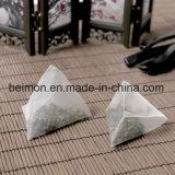 Tessuto del nylon di 100%, tessuto della bustina di tè, materiale del commestibile, bustina di tè del fiore