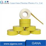 Gelbes Farben-Teflonband für Gas-Band