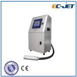 Stampatrice continua della data del prodotto della stampante di getto di inchiostro di manutenzione facile (EC-JET1000)