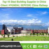 El cliente elogió a la norma europea la construcción de acero de 60X120
