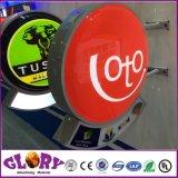 LED che fa pubblicità alla casella chiara esterna di succhiamento acrilica del contrassegno LED