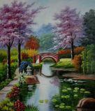 Riproduzione delle pitture a olio del giardino del Thomas per la decorazione domestica