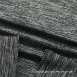 DuPont 84 fils de nylon Lycra 16 Dye Heather Tissu gris pour les jambières