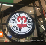 Реклама на щитах Кафе Кафе подписать