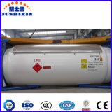 20FT 40FT da estrutura de armazenamento do gás nitrogênio líquido Contentor de GNL do Chassi