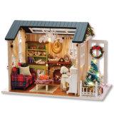 Maison de poupée Miniature Cuteroom Bricolage cadeau de Noël des enfants Toy Z-009