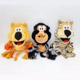 柔らかいプラシ天の犬のための動物のパンダのコアラの鶏のブタペットおもちゃ
