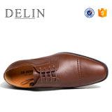 Designer muestra gratuita Derby Zapatos para hombres, los hombres más popular de zapatos, zapatos de vestir de hombres PU
