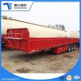 Eje 3 de 30 a 50 toneladas de carga semi remolque con cerca de 600 mm.