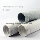 Zak van de Filter van de polyester de Antistatische (Gemengd met elektrische vezel) Naald Gevoelde voor de Industriële Collector van het Stof