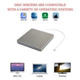 アップルコンピュータのためのUSB DVD駆動機構のレコーダー(灰色)