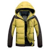 Os homens' S Down camada exterior de Inverno Warth Down-Filled Jaqueta Jacket para baixo