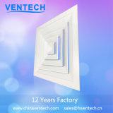 La Chine fournisseurs plafond en aluminium Carré Diffuseur HVAC Air