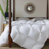 Alimentação de hotel de tecido de algodão microfibra para camas com edredão de plumas de Retalhos