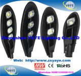 Yaye 18 Hot Sell Ce/RoHS 30W 50W 60W 70W 80W 100W 120W 150W 160W 180W 200W 240W 250W 300W 400W COB SMD Solar LED Road Lamp met 13 Years Production Time