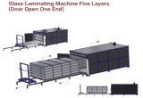 CE de la máquina caliente del producto 5 capas de vidrio del horno Lamimated