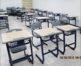 Projeto moderno, mesa da sala de aula e cadeira