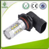 Nueva luz de niebla del coche LED del estilo 80W 750-850lm blanco