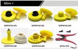 Hf 또는 UHF 동물성 RFID 귀 꼬리표