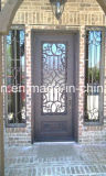 Únicas portas da rua Rust-Proof de venda quentes da entrada do projeto da porta