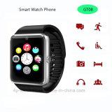Telefone esperto do relógio de Bluetooth com tela de toque Gt08