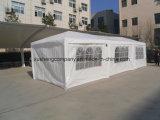 10 ' [إكس30'ووتدوور] ظلة حزب عرس خيمة بيضاء [غزبو] جنوح [و/وو] [سد ولّ]