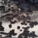 Zerquetschtes strickendes Samt-Sofa-Gewebe-Möbel-Gewebe (CD002)