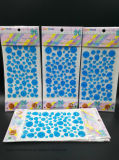 Оптовые светящие кристаллический стикеры этикет диаманта Rhinestone для стены автомобиля (синь TS-003)