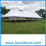 Mât en acier de crête élevée de plein air Cheap partie tente
