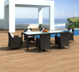 Muebles de ratán sillón de ratán juego de mesa