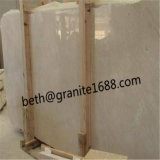 Crema中国のMarfilの磨かれたクリーム色の大理石ベージュ大理石の平板