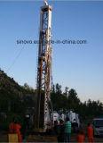 pleine profondeur 1000m drilling hydraulique, plate-forme de forage de puits d'eau de SNR1000C