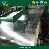 L'acciaio galvanizzato tuffato caldo superiore 2017 in bobina, colora lo strato rivestito del tetto dello zinco, alluminio dello zinco