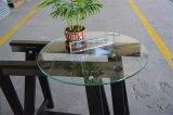 Piccolo vetro superiore di vetro rotondo del ripiano del tavolo di /Tempered della Tabella