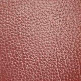 SGSの金の証明の製造業者本物Z076袋の革方法人および女性のバックパックのスーツケースの革PVCレザーPVC革