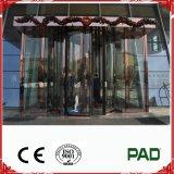 Sistema de la automatización de la puerta giratoria con modo de desplazamiento adentro para